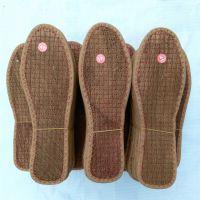 防臭棕鞋垫批发 天然防潮保暖棕丝鞋垫