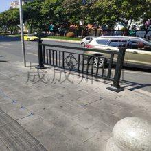 惠州乙型护栏 钢制京式道路护栏 东莞车道分隔市政甲型护栏厂家