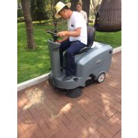 南宁环保扫地机免维护电瓶系类驾驶式洗地机应用仓库外围清扫环境