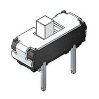 硕方 MVS1235 四脚插件滑动开关 二档正拨滑动开关