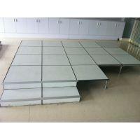 青海活动地板厂家|防静电地板安装步骤|弱电房静电地板价格|HPL防静电地板