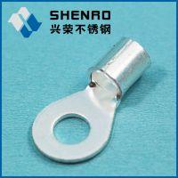 国产紫铜材料OT冷压端子OT10-5 圆形裸端接线铜鼻子 端子批发