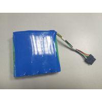检测仪表电池 18650 14.8V 3400mAh 锂电池组