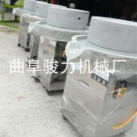 榆社县 豆制品花生酱香油石磨机 肠粉机 骏力牌 电动石磨豆浆机 特价供应