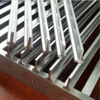 安民 专供出口钢格板 T型钢格板 常规钢格板 超强抗压性 手工焊接 方型孔