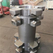 132S24-01齿轮联轴器真心实意双志煤机生产刮板输送机链轮组件