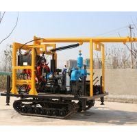 厂家供应履带底盘地探钻机 岩芯勘探钻机整机采用国标钢材框架