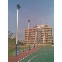 贵州篮球场灯光材质,室外球场灯柱规格型号 ,照明工业 灯具配附康腾体育厂价