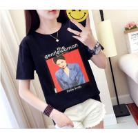 尾货服装批发甩卖低价T恤批发韩版女装大件T恤货源工厂直销女装货源处理