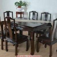 厂家直销餐桌椅组合简约现代餐桌椅家用北欧实木饭桌餐厅家具定制