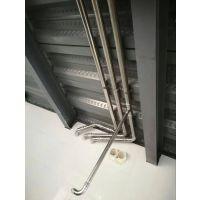 珠海304卡压式不锈钢管件 薄壁不锈钢饮用水管