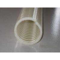 pu钢丝伸缩吸尘软管内径25-500之间壁厚0.6-2.0.聚氨酯钢丝伸缩管厂家德洲雨泽