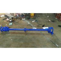 无堵塞液下式排污泵50YW10-10-0.75液下立式排污泵耐腐蚀液下泵