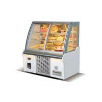 威雪达蛋糕柜冷藏展示柜弧形直角风冷柜寿司熟食甜品西点水果保鲜柜