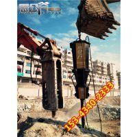 大型机载式岩石分裂机适用于矿山开采愚公斧