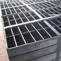 金属排水沟盖板 GU型钢格板沟盖 镀锌板沟盖