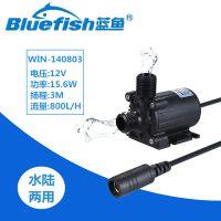 蓝鱼WIN-140803工业泵12V直流无刷抽水泵家用高扬程水循环泵