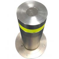 304不锈钢手动路障机 校园防撞路桩 手动一体防撞路障机 液压半自动升降柱