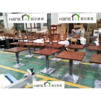 宁波自助餐厅桌椅厂家 餐饮家具定制 上海韩尔现代品牌