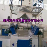 深圳市尚柏自动喷砂机厂家大型通过式抛丸清理机袋式除尘器环保节能BE型分离器提高生产效率