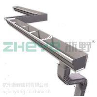 杭州浙野专业生产铝合金天沟檐沟檐槽屋面排水用落水系统