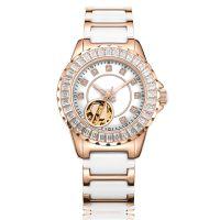 镶钻款式机械表女士—稳达时手表定制工厂批量500只起订