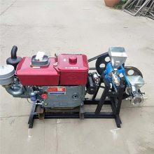 新款10种花型膨化机 柴油机带动杂粮膨化机鼎翔机械厂