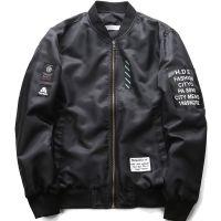 跨境亚马逊wish厂家直供 秋季新款夹克大码飞行服空军速卖通外套