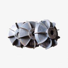 JS750混凝土搅拌机料斗提升电机刹车风叶制动轮 7.5kw电机刹车盘