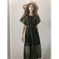 广州白马服装市场品牌折扣女装进货欧美连衣裙慕拉一手货源清仓女装
