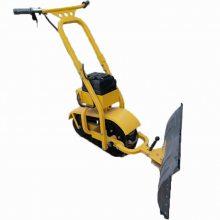 天德立CXJ-I手推履带式推雪机 充电式推土推沙机 养殖场推粪机