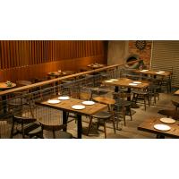 咖啡厅桌椅复古茶餐厅甜品奶茶店休闲主题西餐厅卡座沙发桌椅组合