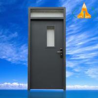 佛山星加邦厂家贸易出口东南亚铁门钢质复合门带亮子镀锌钢质门整套门