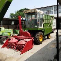 大型转盘式高效粉碎青储机 多功能玉米秸秆粉碎收割还田机