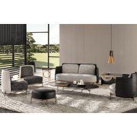 MERIDIANI家具简约设计客厅布艺单双人组合沙发家具