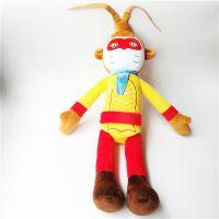 创意设计齐天大圣动漫卡通公仔 毛绒玩具厂家专业设计定制
