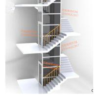 益阳泰辉定制阁楼提升平台 地下室升降货梯