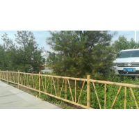 HC锌钢草坪栅栏,荷泽仿竹篱笆围栏,组装围墙栅栏201,锌钢道路隔离栏,荷泽仿竹草坪围栏,