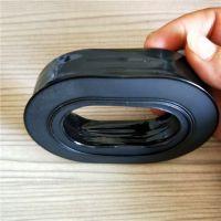 厂家生产各种皮耳套 可填充液体硅胶的航空耳机套 舒适柔软