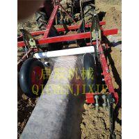 20-40马力带的起垄覆膜机 可以适应各种作物起垄 两用机