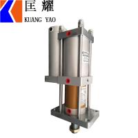 气液增压缸1T3T5T10T20吨台湾匡耀气动增力标准型汽液增压缸