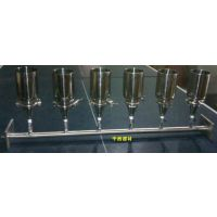 中西 六联不锈钢溶液过滤器型号:DC07-M365604库号:M365604