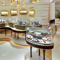 凡路展柜定制 黄金珠宝展柜 商场珠宝展示柜 施瑞福珠宝万达店