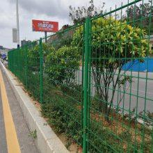 双边丝隔离网 广州三角折弯护栏安装 河源厂区临时隔离网
