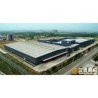 山东三维钢结构公司承接低合金结构钢金鼎实业钢结构厂房工程