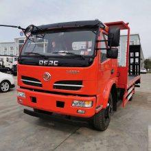 生产销售东风牌福瑞卡挖机拖车拉80挖机的蓝牌拖车1.0L排量