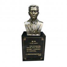 铸铜聂耳全身站立雕像玻璃钢音乐家名人半身头胸铜塑像树脂仿铜肖像雕塑广场校园人物肖像胸像摆件