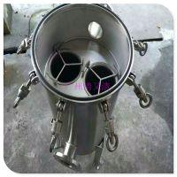 广旗厂家直销 广州市100T/H袋式过滤器 电镀液专用袋式过滤器