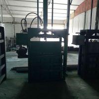 富兴家具厂废海绵压块机 40吨废油桶压扁机 黄纸箱打包机参数