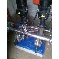 咸阳独李定做加工全自动不锈钢自动供水压力罐 咸阳独李无塔供水 RJ-E481